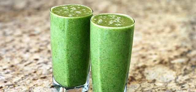 Grünkohlsmoothies sind lecker und gesund.