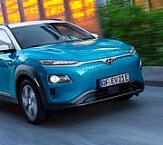 Hyundai Kona Elektro Electric Elektroauto E-Auto
