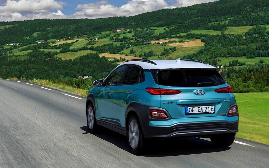 hyundai kona elektro elektroauto mit 482 kilometer. Black Bedroom Furniture Sets. Home Design Ideas