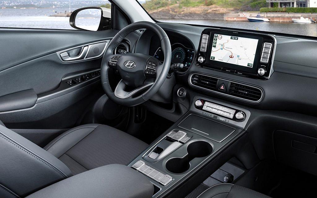 Blick ins Innere des Hyundai Kona Elektro