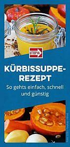 Kürbissuppe-Rezept: so gehts einfach, schnell und günstig