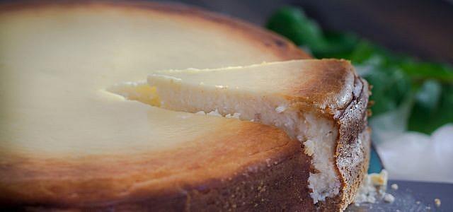 Leckerer Käsekuchen