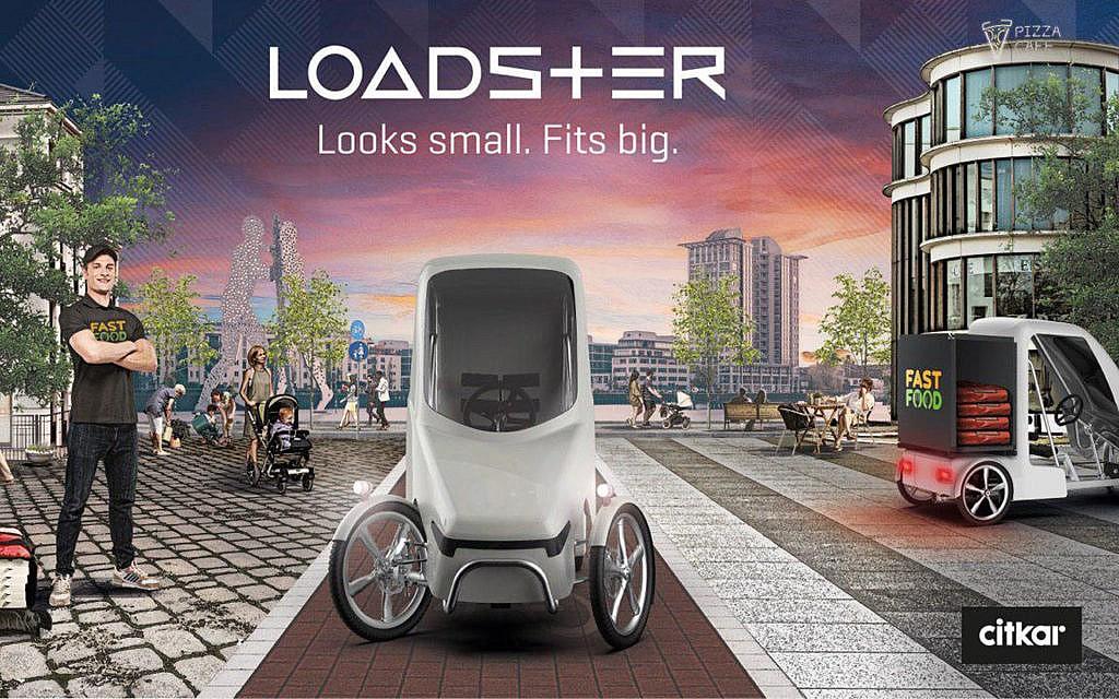 Loadster: Transportfahrzeug der Zukunft?