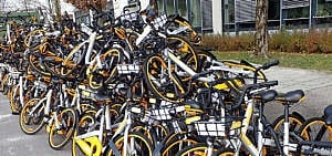 Obike Leih-Räder, Bike-Sharing Problem