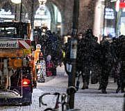 Winterdienst, Streusalz, Winter
