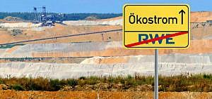 RWE boykottieren und zu Ökostrom wechseln