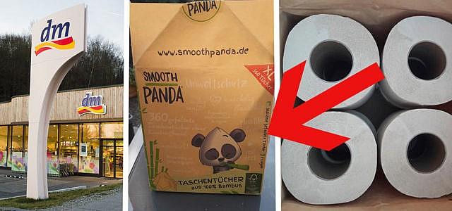 Neu Bei Dm Klopapier Aus Bambus Ohne Plastikverpackung Utopia De