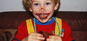 Gesunder Kuchen für Kinder