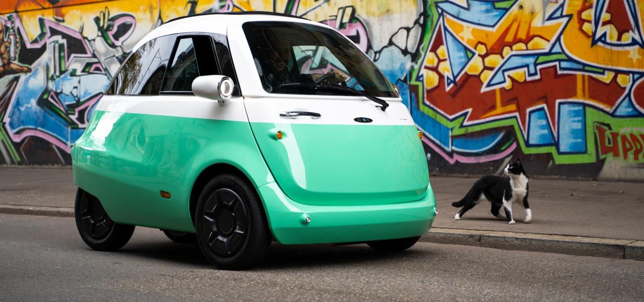 Elektroauto Microlino Elektro Isetta Wird Auch In Deutschland Gebaut