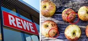 Rewe Penny Obst Gemüse Schönheitsfehler krumm