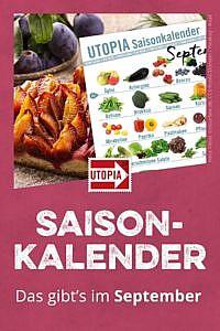 Saisonkalender: Das gibt's im September