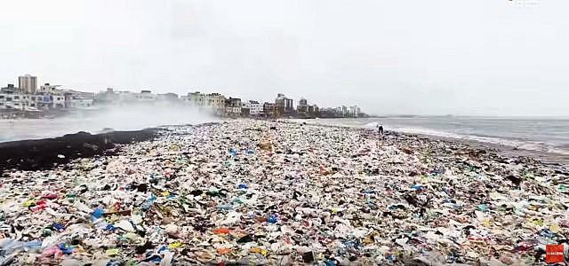 Versova Strand Afro Shah Plastik