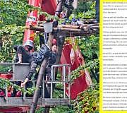 Hambacher Forst Polizist Polizei Brief
