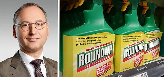 Glyphosat Bayer Monsanto Werner Baumann