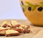 Paranüsse enthalten Selen in besonders hohen Mengen.