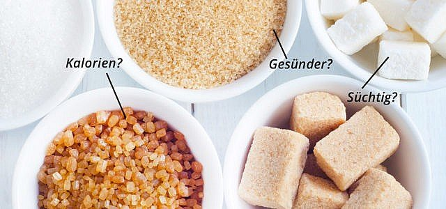 Zucker. Kalorien? Gesund? Brauner Zucker?