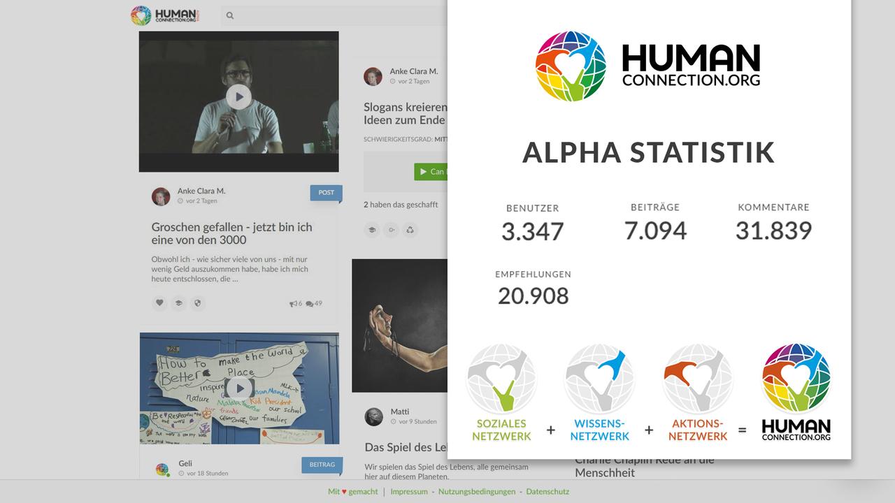 Aktuell noch in der Alpha, soll bald eine öffentliche Beta-Version von Human Connection folgen.