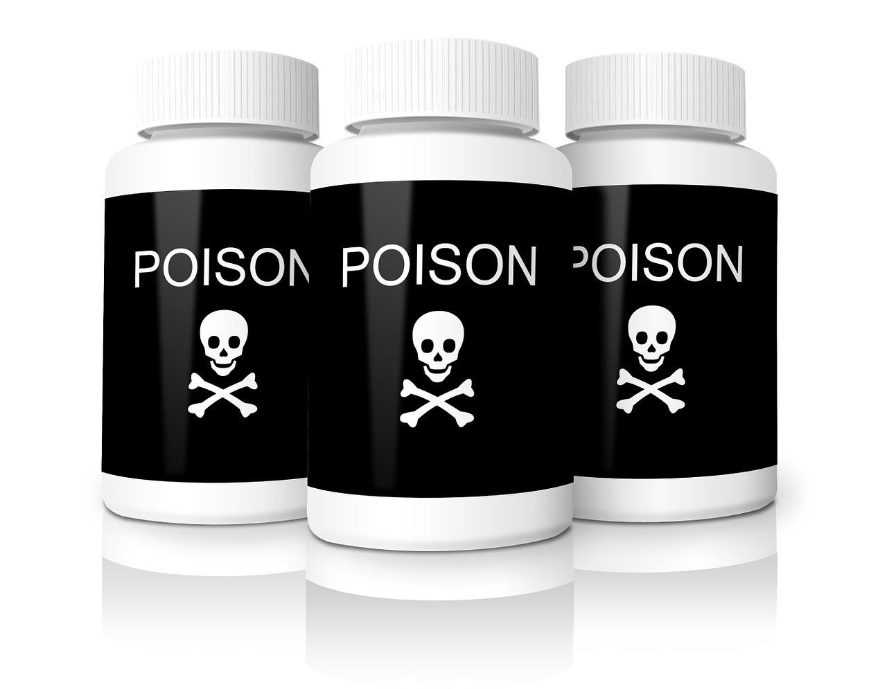 Einige Schwermetalle sind giftig