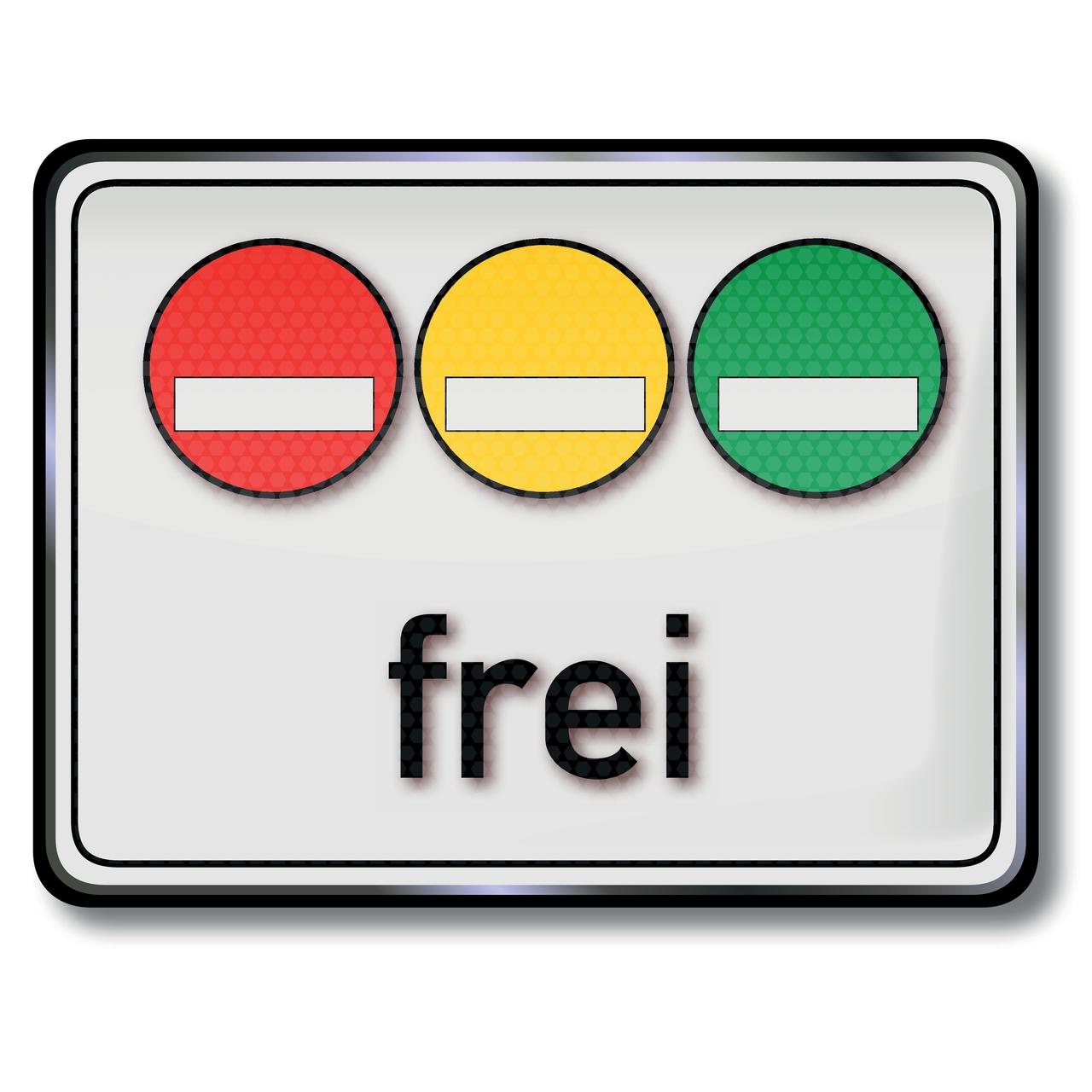 Es gibt drei Umweltplaketten in Deutschland.