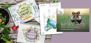 Die schönsten nachhaltigen Kalender für 2019