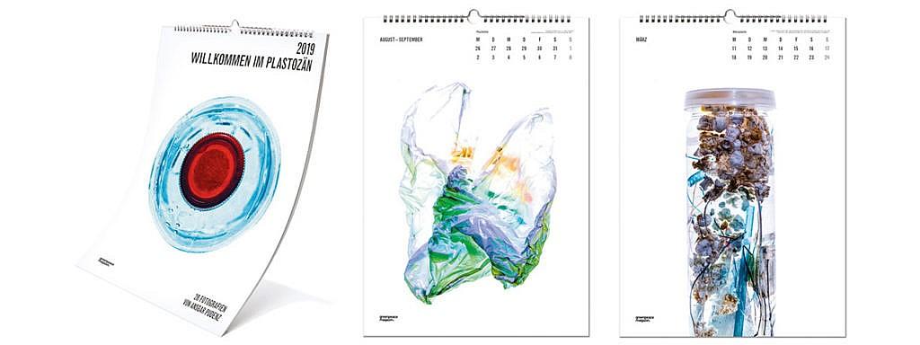 Kalender 2019: Willkommen im Plastozän