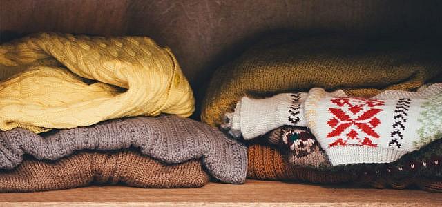 Kleider spenden Altkleider Pullover