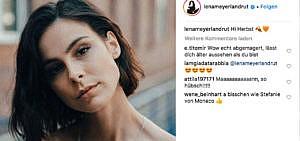 Lena Meyer-Landrut wehrt sich gegen Mobbing im Netz