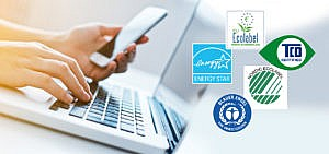 Siegel für Smartphones, Laptops, Notebooks, Elektronik