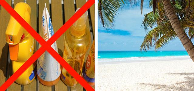 sonnencreme verbot palau umweltschutz korallen
