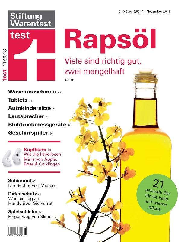 Stiftung Warentest hat 21 Rapsöle getestet.