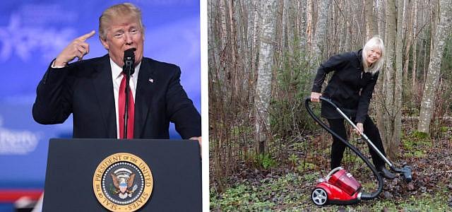 Trump Waldbrand Finnland Twitter Kalifornien