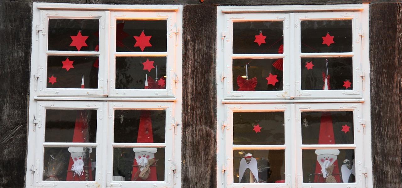 weihnachtsdeko f rs fenster kreative anleitungen zum selbermachen. Black Bedroom Furniture Sets. Home Design Ideas