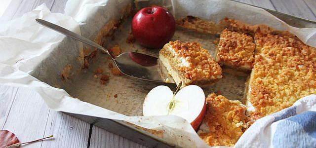 Apfelmuskuchen Vom Blech Ein Rezept Fur Den Schnellen Kuchen