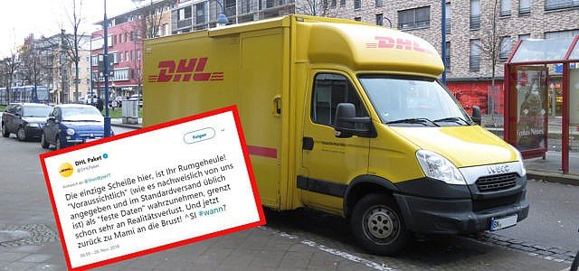 DHL Paket Twitter