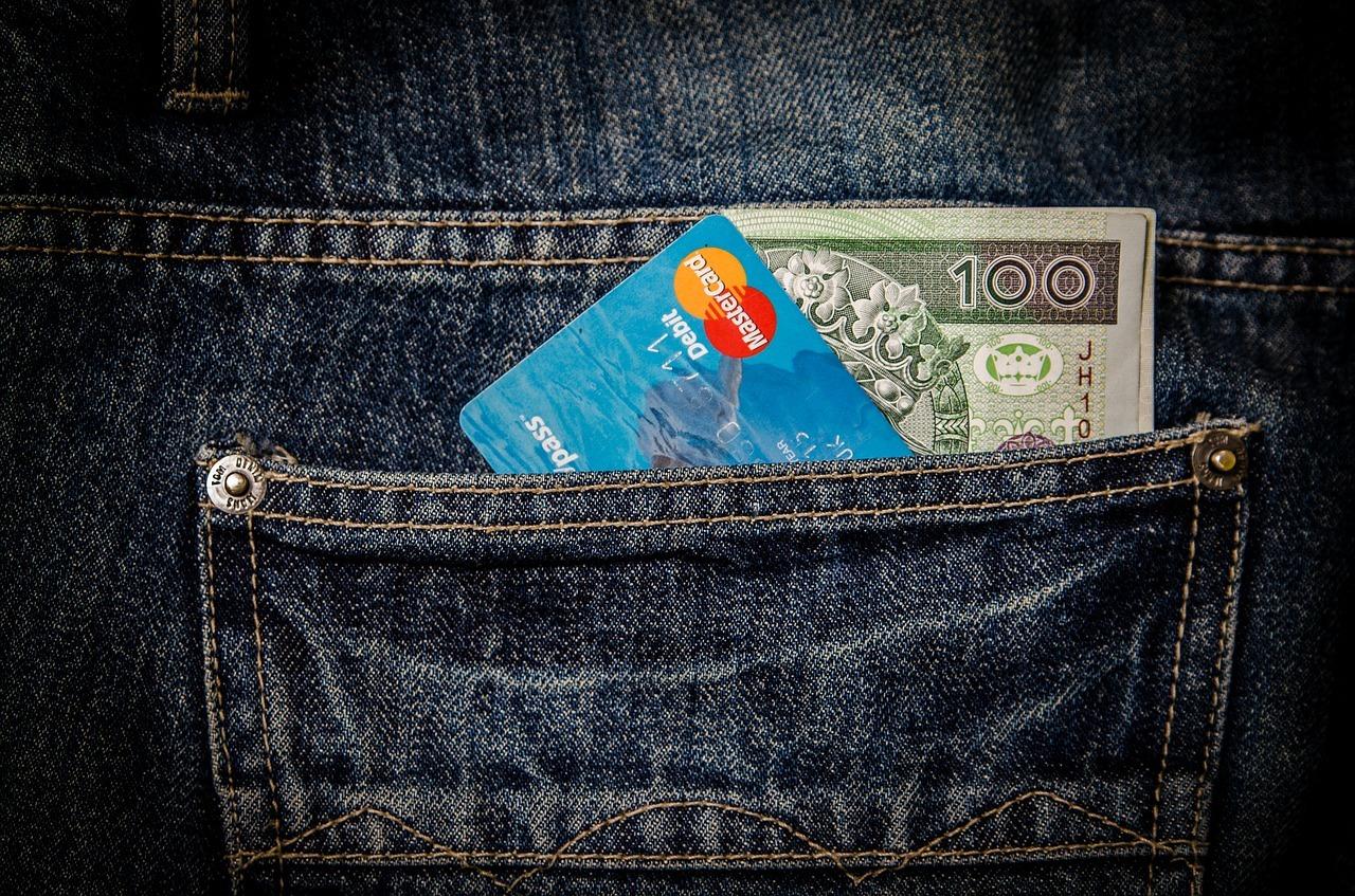 Geld kann schnell verschwunden sein, wenn es zu locker sitzt.