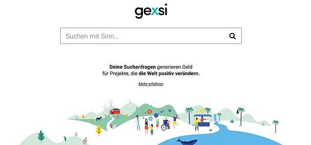 Gexsi Suchmaschine SDGs