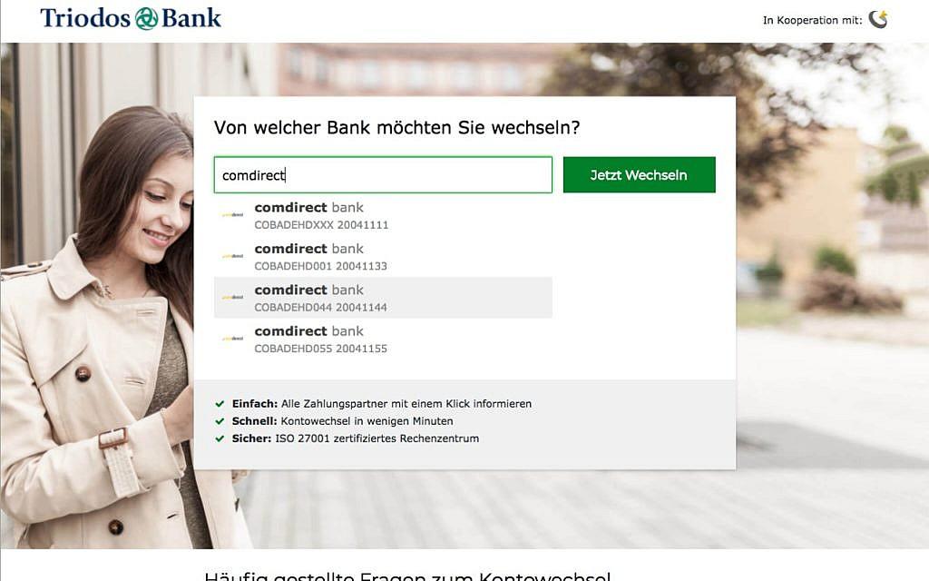 Kontowechselservice Kontowechsel Bankenwechsel