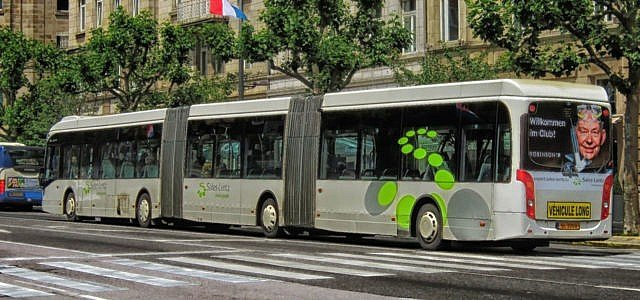 Kostenloser Nahverkehr Luxemburg