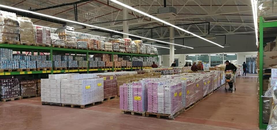 Discounter Supermarkt Russland Mere