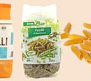 Nudeln aus Kichererbsen, Linsen, Erbsen, Bohnen, Hülsenfrüchten