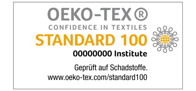 Der Standard 100 by OEKO-TEX