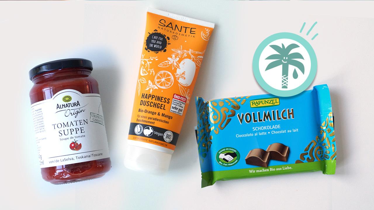 11 beliebte Produkte mit Palmöl und gute Alternativen