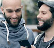 Shiftphones Samuel Waldeck, Carsten Waldeck