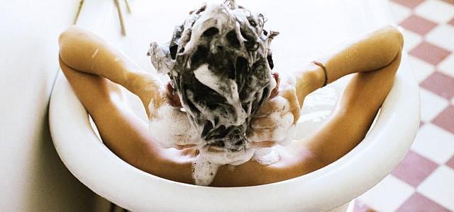 Shampoo ohne Silikone