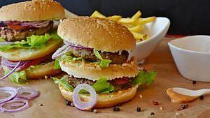 Burger, Pommes
