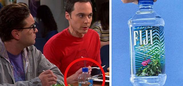 Fiji Wasser The Big Bang Theory
