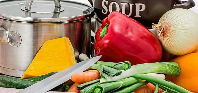 Gemüse für Gemüsesuppe