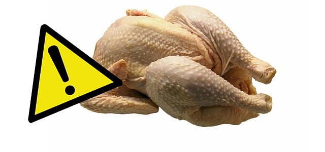 Hähnchen mit Durchfallerreger belastet