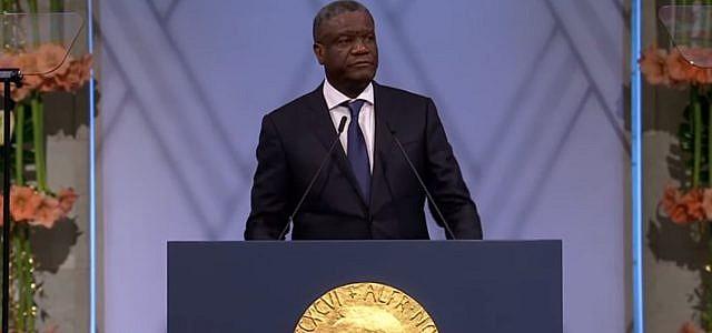Denis Mukwege, Nobelpreis, Friedensnobelpreis