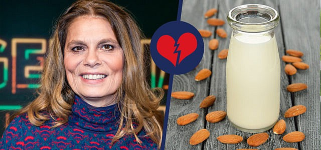 Sarah Wiener sieht Mandelmilch kritisch